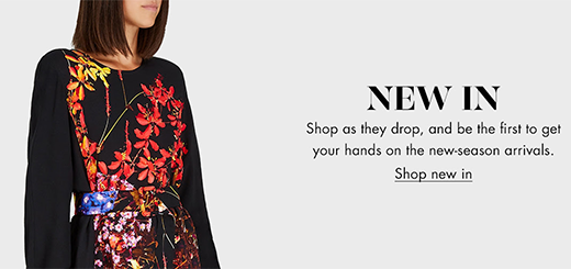 Harvey Nichols - New in - Saks Potts, Marc Jacobs, Gucci and more