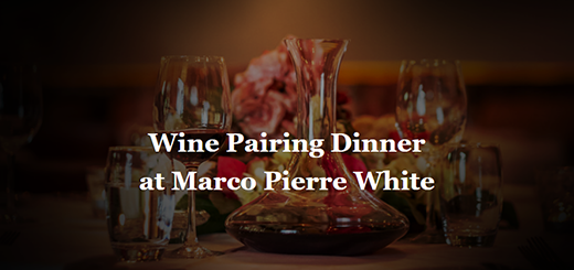 Marco Pierre White Courtyard Bar & Grill Donnybrook - Wine Dinner with Château la Gaffelière at MPW