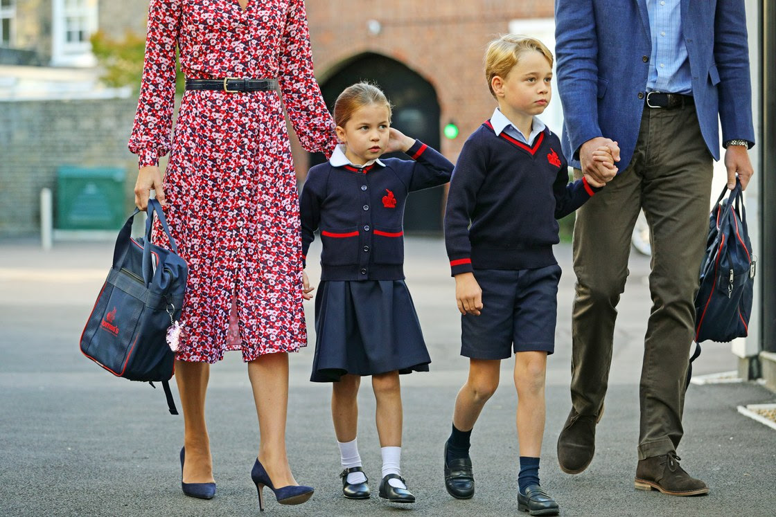 Royal Watch - Back to School With Princess Charlotte