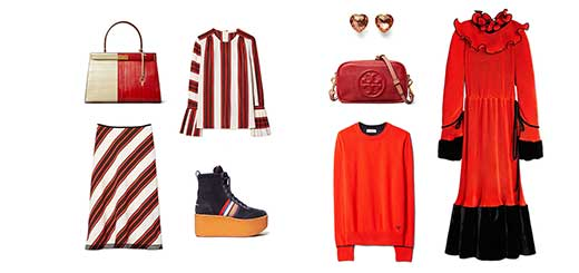 Tory Burch - In Color Bold Red