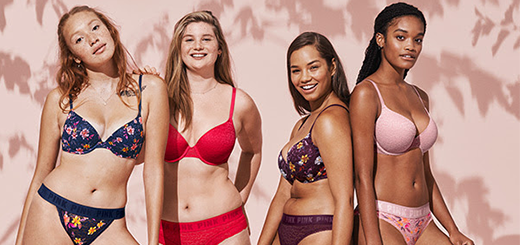 Victoria's Secret PINK - INTRODUCING SMOOTH LACE, & it's ON SALE!