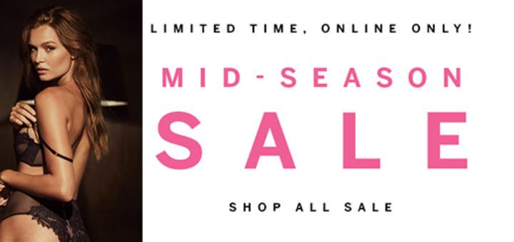victoria's secret – happening now: mid-season sale!