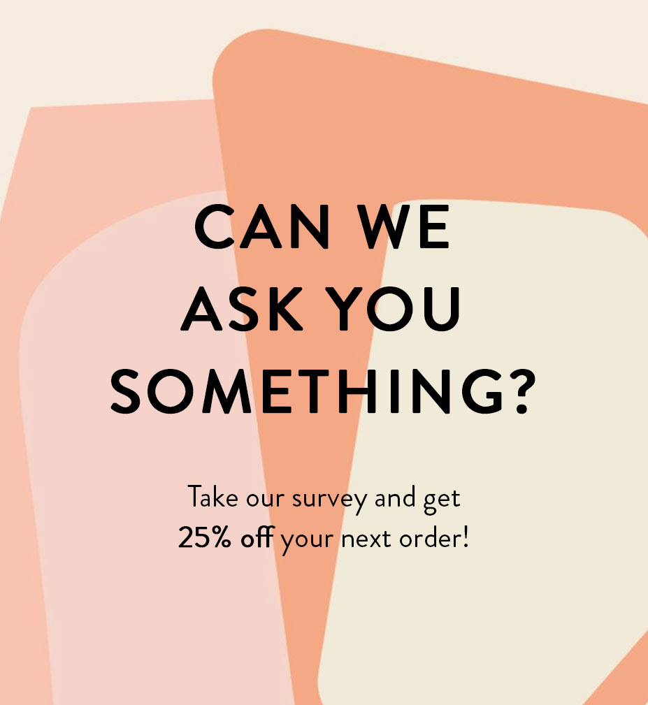 iCLOTHING - Get 25% OFF for Taking our Survey!