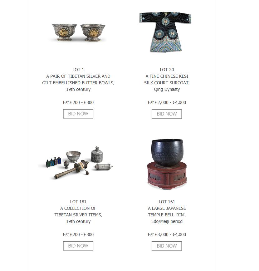 Adams - Asian Art Catalogue Online!