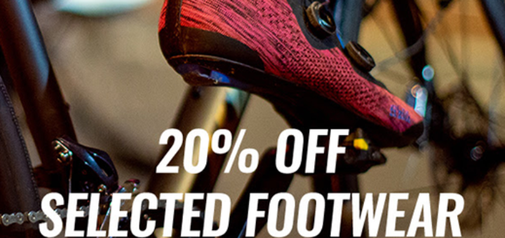 Cycle Surgery - 20% OFF Selected Footwear - Now on!