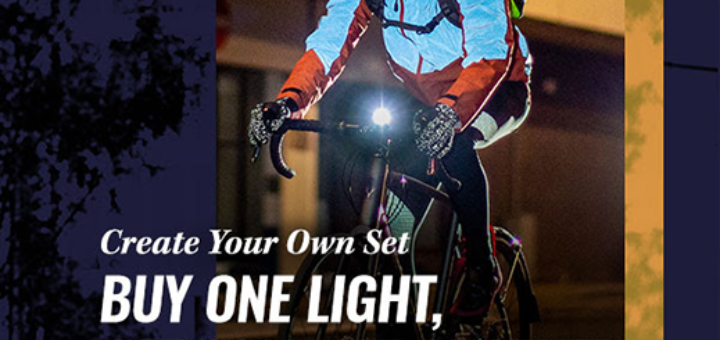cycle surgery – buy one light, get 20% off another…