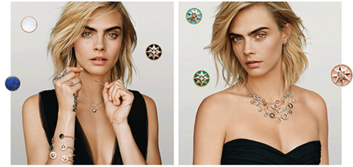 DIOR - Cara Delevingne presents Dior Jewelery
