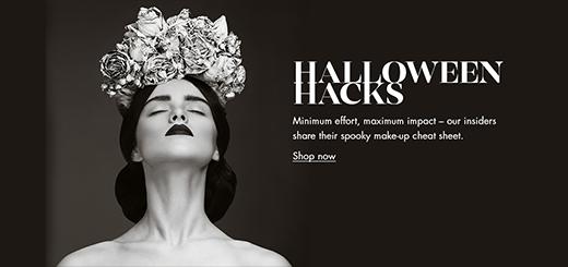 Harvey Nichols - Halloween beauty hacks