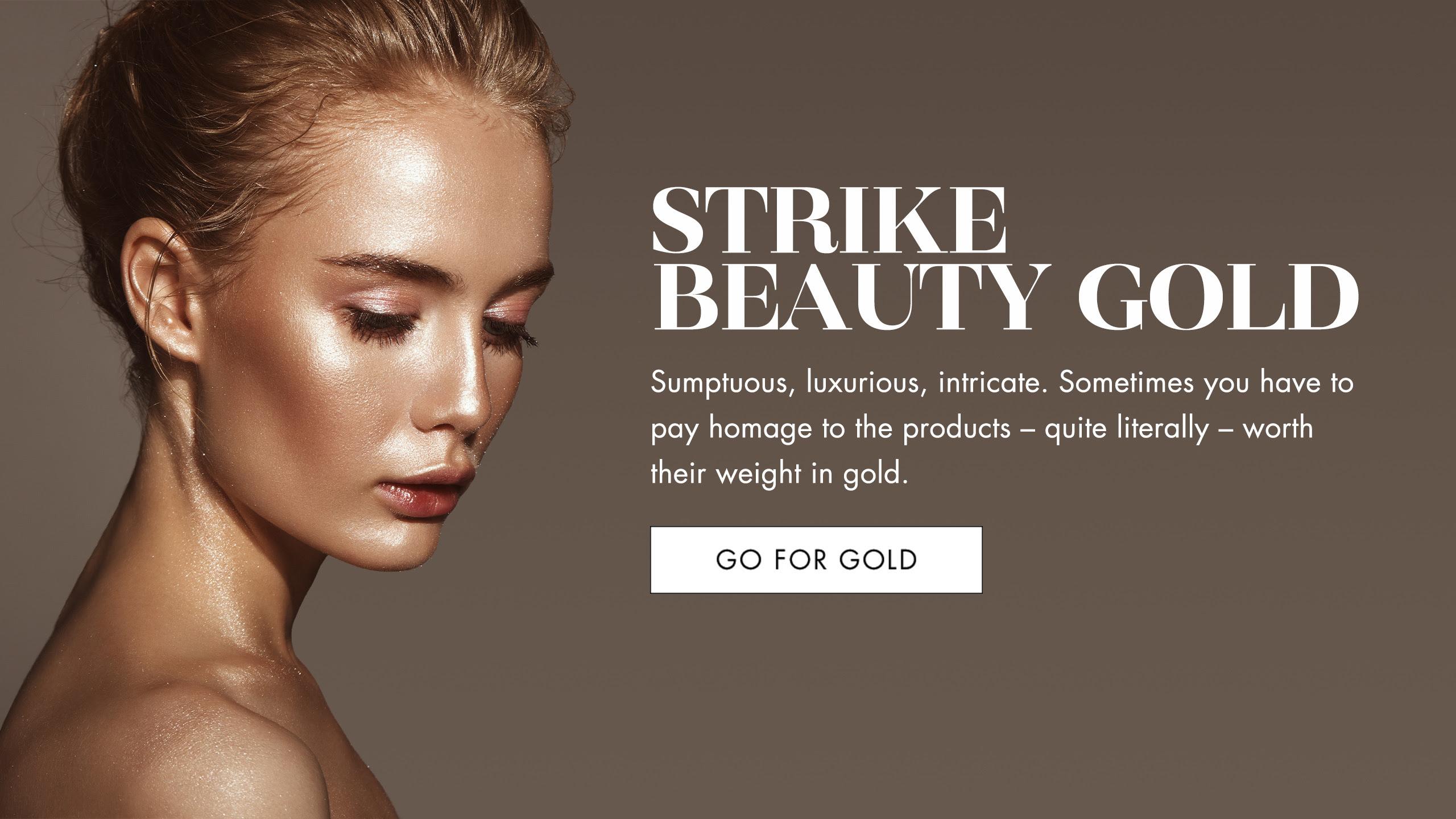 Harvey Nichols - Strike beauty gold