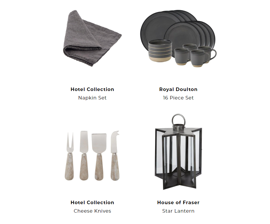 House of Fraser - 3 ways to style a Halloween dinner party