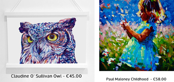 Kilkenny Shop - Your Favourite Artwork Under €100!
