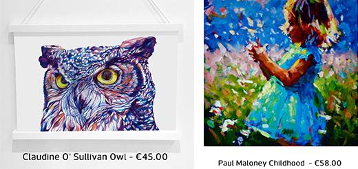 Kilkenny Shop - Your Favourite Artwork Under €100!