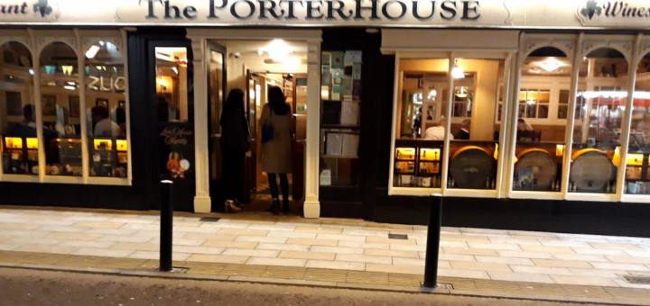 in the 'pynck' in killarney at the porterhouse gastropub
