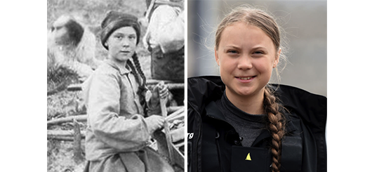 Is This Photo Proof That Greta Thunberg Is a Time-Traveling Gold Prospector Here to Save the World? We'll Let You Decide