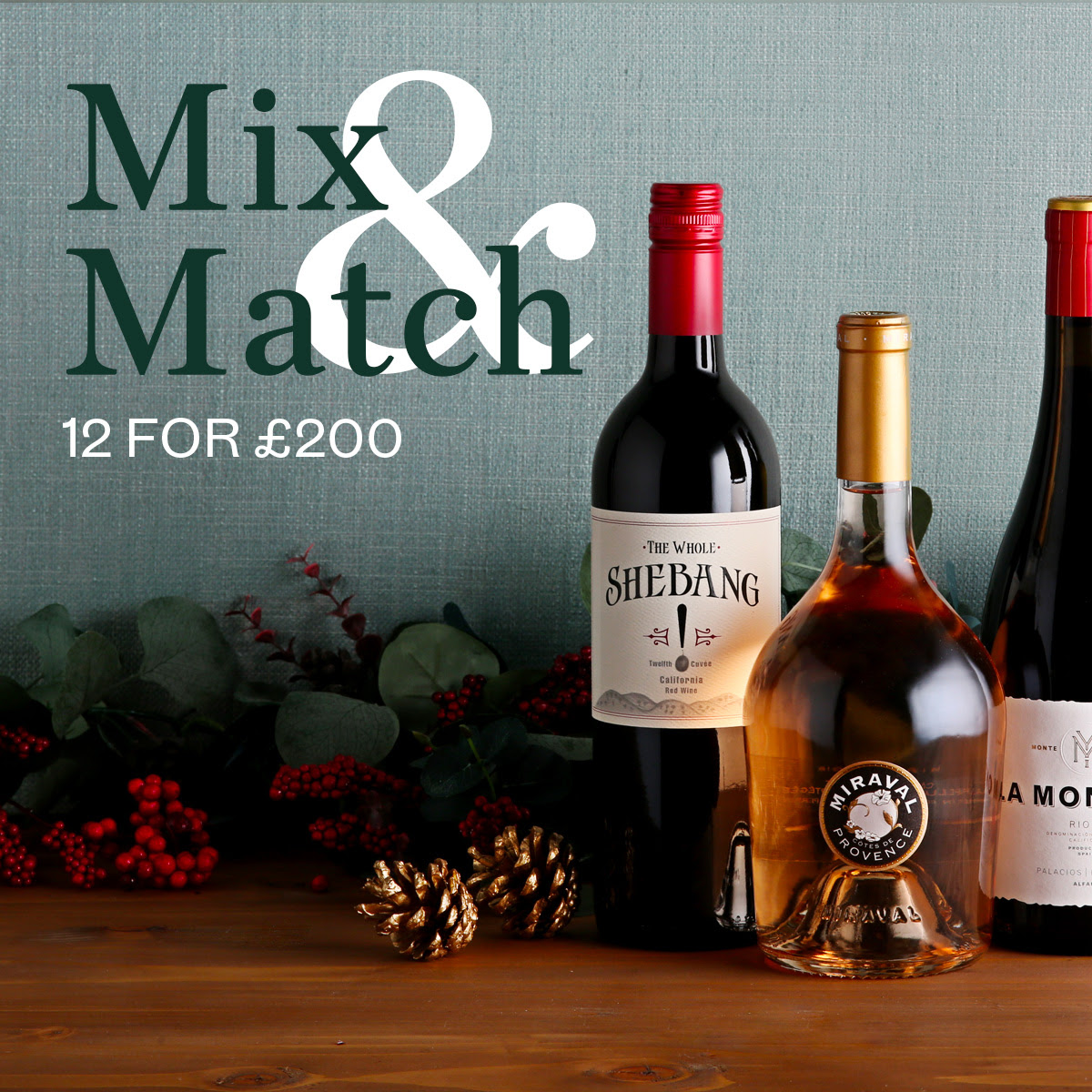 Berry Bros. & Rudd - Mix and match: 12 for £200