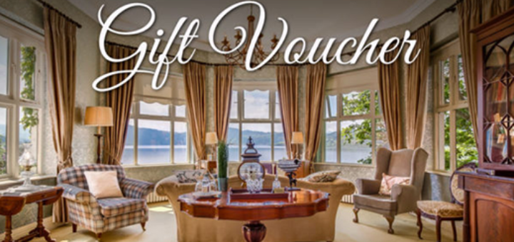 Carrig Country House & Lakeside Restaurant - Gift The Gift Of Carrig This Christmas - 10% Off All Vouchers