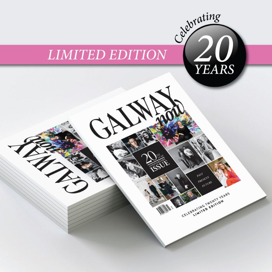 GALWAYnow magazine - The perfect Christmas memoir - Limited Anniversary Edition of GALWAYnow