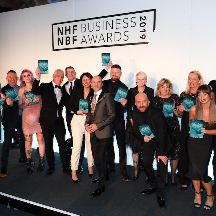 Winners of the NHBF Business Awards 2019