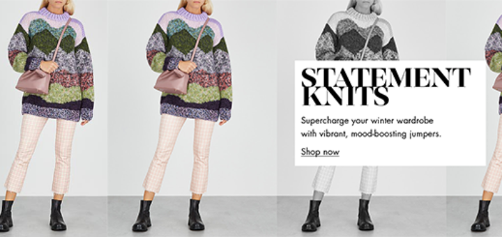 Harvey Nichols - The colourful knits we love Statement knits