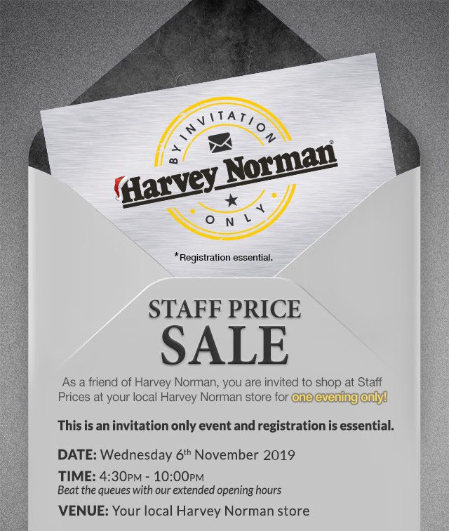 Harvey Norman - Get better than Black Friday Prices