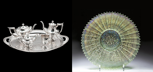 In Good Taste - A Guide to Carnival Glass and Gorham Silver