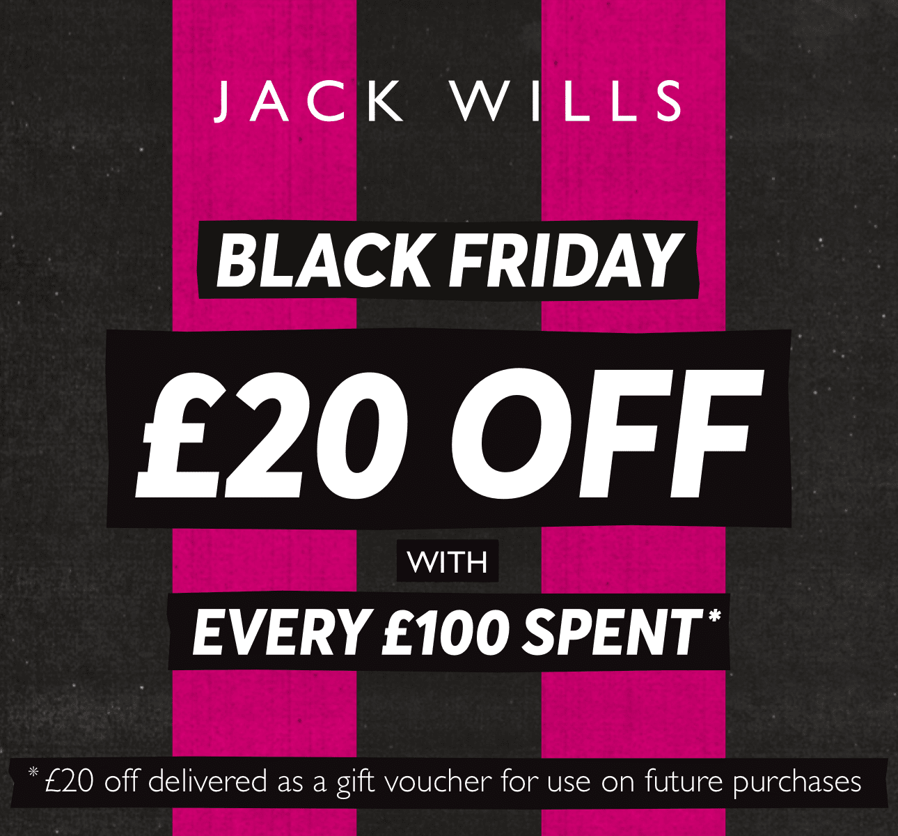 Jack Wills - Miss it, miss out!