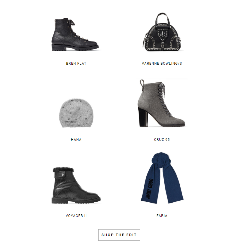 Jimmy Choo - Your Winter Edit Is Here