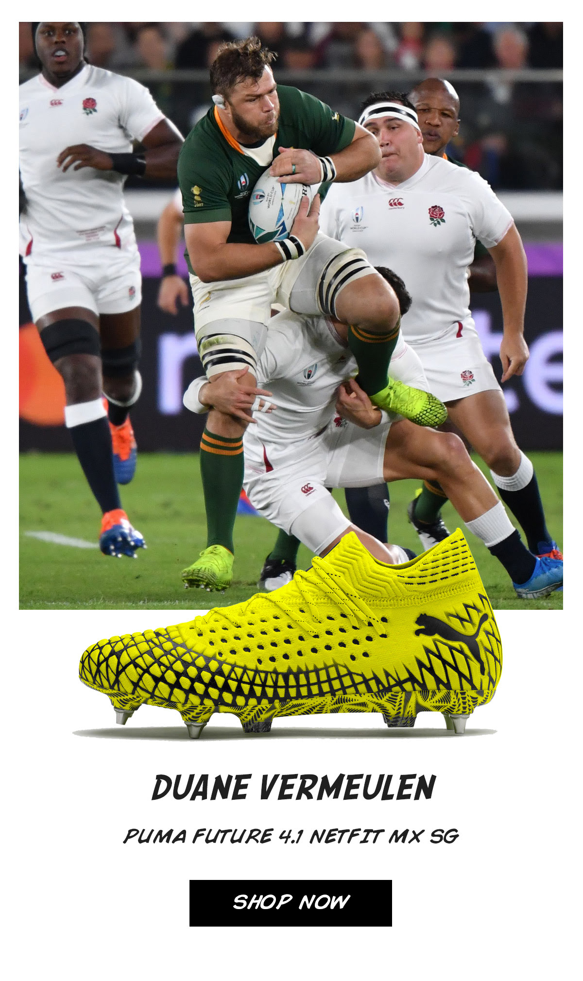 Lovell Rugby - RWC 2019 Final – Stand Out Boots