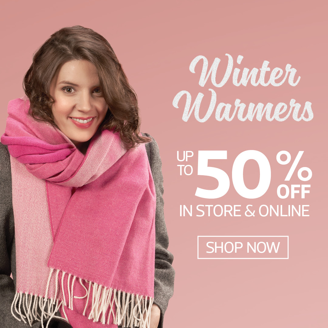Kilkenny Shop - Winter Warmers Sale! In Store and Online