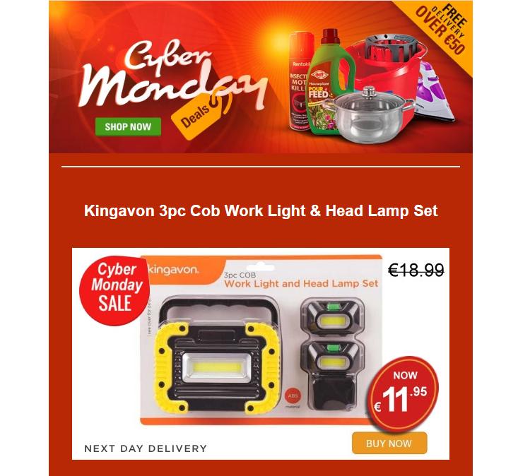 Lenehans - Cyber Monday Deals @ Lenehans.ie