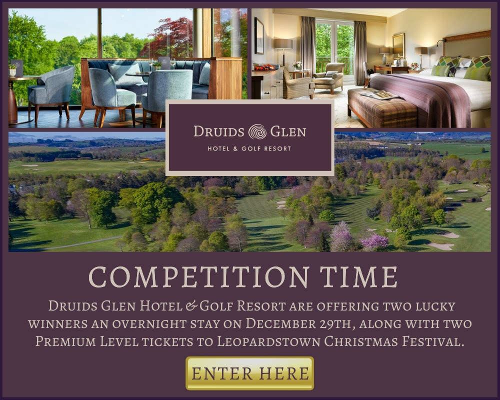 Leopardstown Racecourse - Strong race entries revealed for Christmas Festival and WIN an overnight stay in Druids Glen Hotel