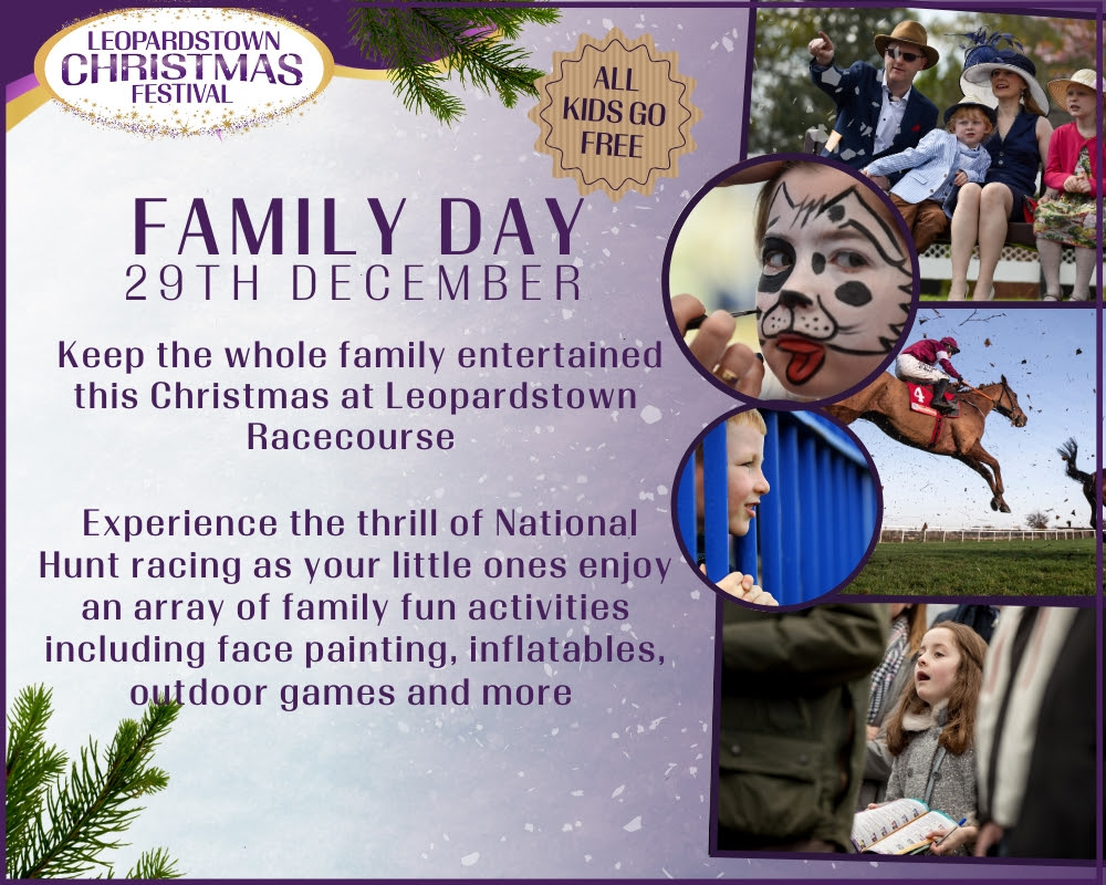 Leopardstown Racecourse - WIN a Racing Post Goodie Bag & Premium Level Tickets to Leopardstown Christmas Festival