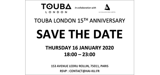 TOUBA LONDON - SAVE THE DATE - TOUBA is throwing a PARTY!