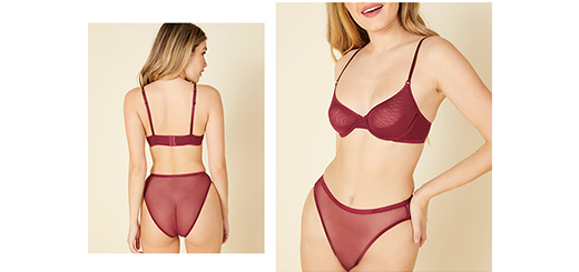 Cosabella - Lightweight mesh in a new plush color
