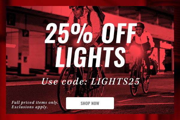 Cycle Surgery - 25% off Lights continues