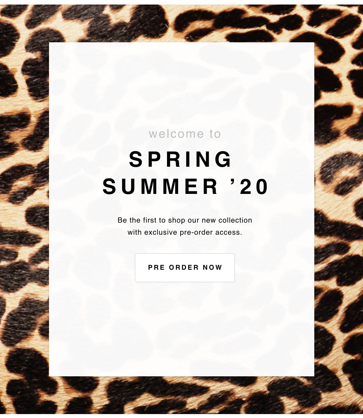 Jimmy Choo - Pre-Order Spring Summer '20 - Now Open