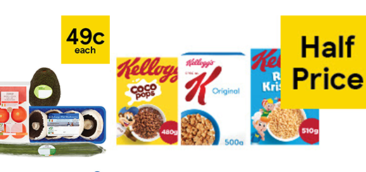 Tesco Ireland - 49c Avocados, Half price cereals, pasta, yoghurts and more