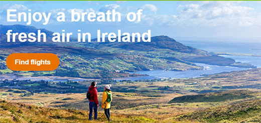 Aer Lingus - it the great outdoors on the Wild Atlantic Way