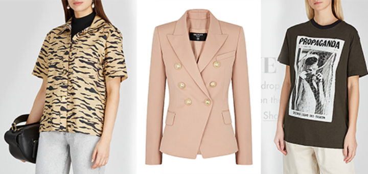 Harvey Nichols - New in - Acne Studios, Christopher Kane, Alexander McQueen and more