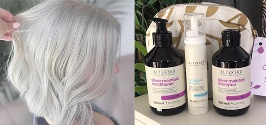 Kreative Salon Supplies - Alter Ego Silver Maintain No Yellow Shampoo!