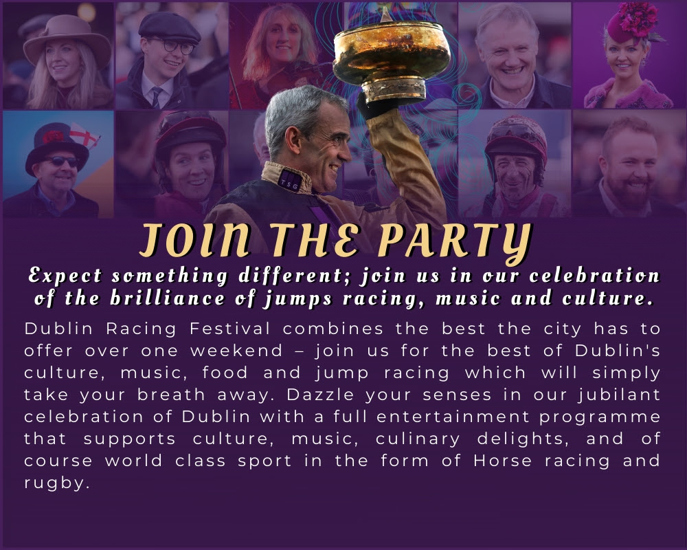 Leopardstown Racecourse - The Paddy Power Irish Gold Cup -Join the party!