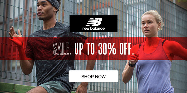 Runners Need - Up to 30% off New Balance Sale