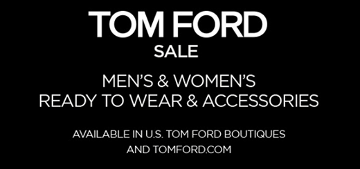 TOM FORD - SALE - men and women ready to wear and accessories