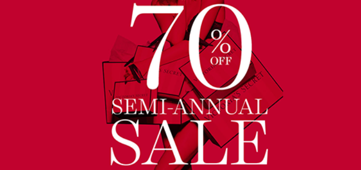 Victoria's Secret - Up to 70% NOW at the Semi-Annual Sale