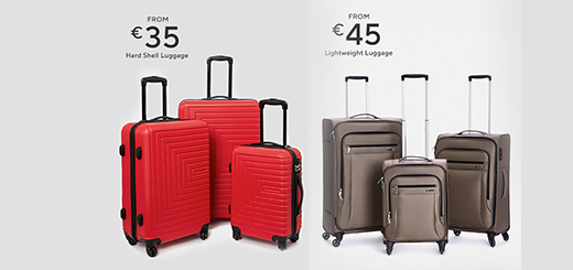 Dunnes Stores - Up, Up & Away - Shop Luggage
