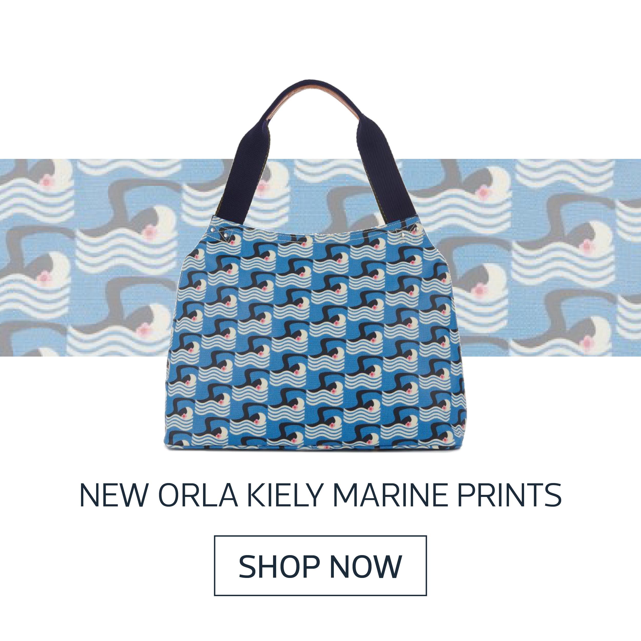 New orla kiely Marine prints