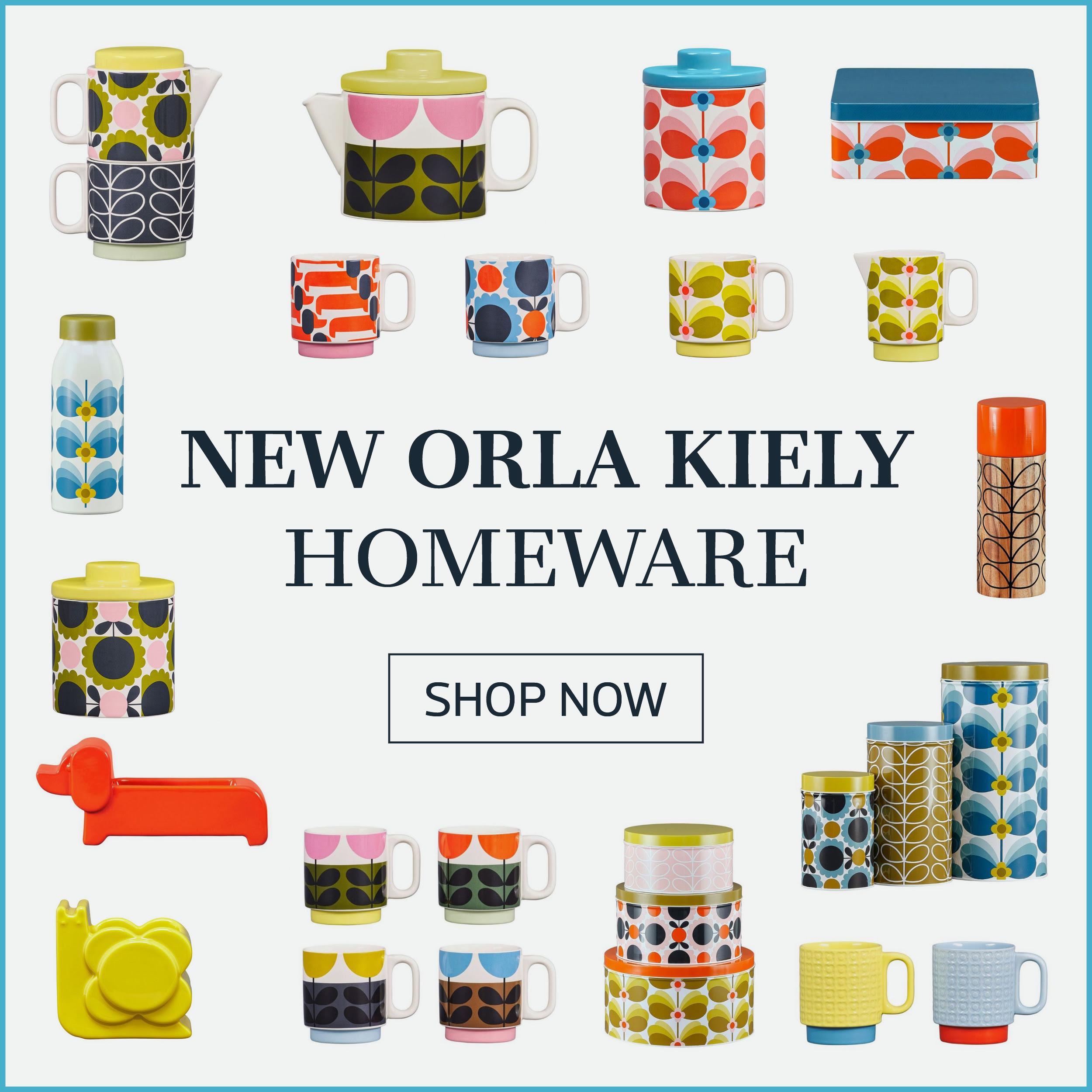 New orla kiely homeware