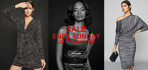 REISS - Hurry Sale Ends Sunday