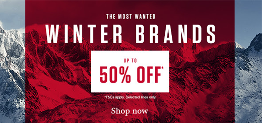 Snow and Rock - Up to 50% off - Most Wanted Winter Brands