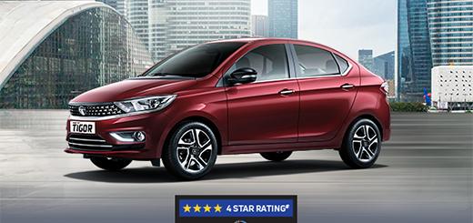 Tata Tigor - New Tigor - The Sedan For The Stars and Safest in its Segment